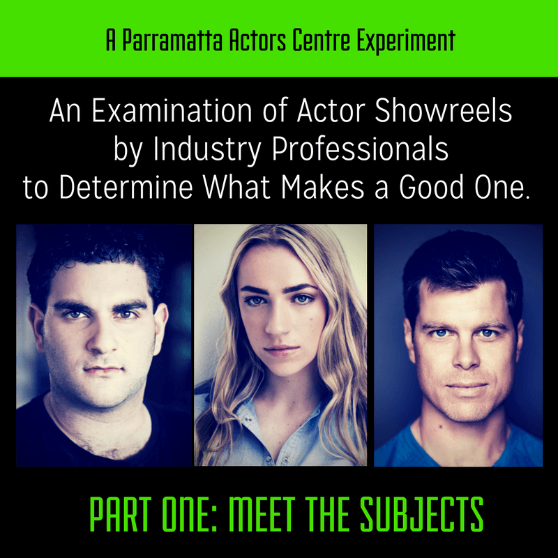 Top tips for a powerful showreel standby method acting studio.