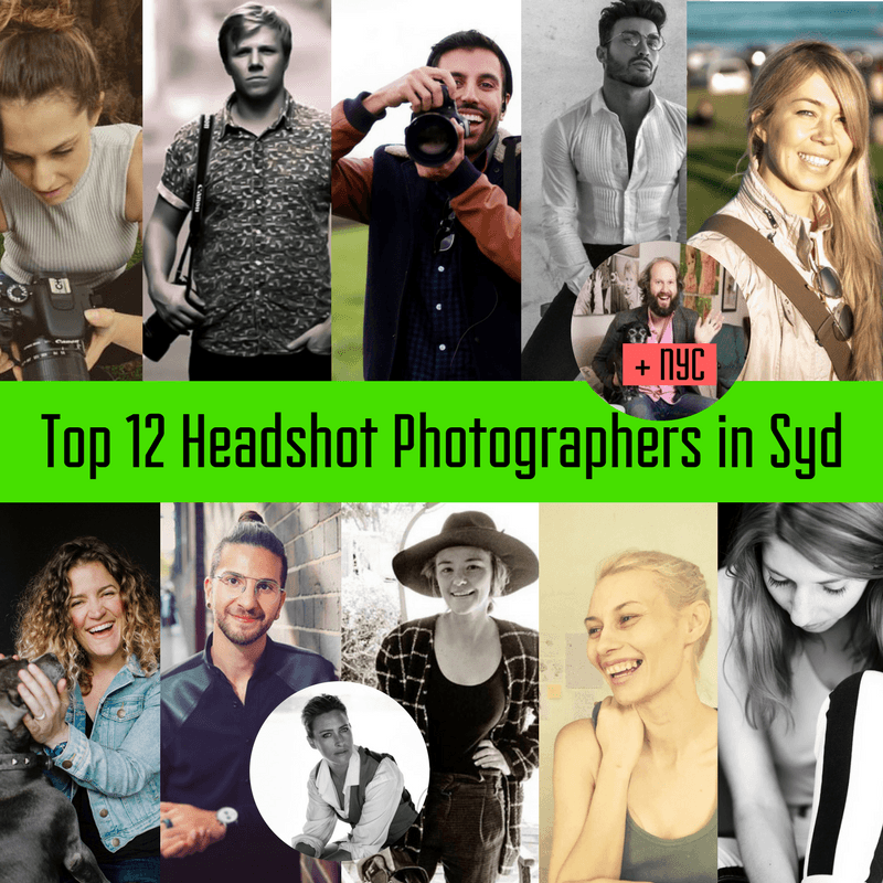 Top 12 Sydney Headshot Photographers | Parramatta Actors Centre