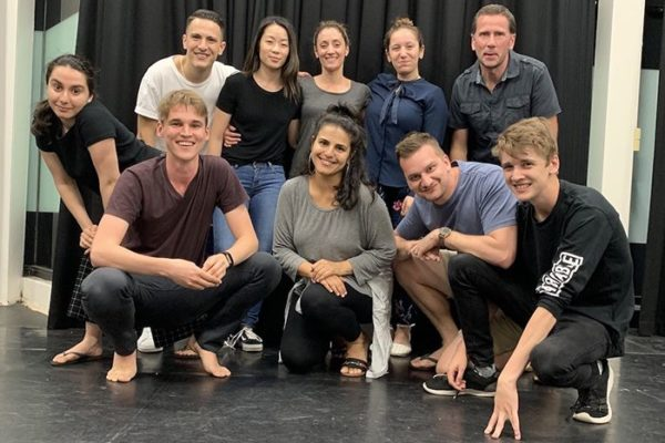 an adult acting class